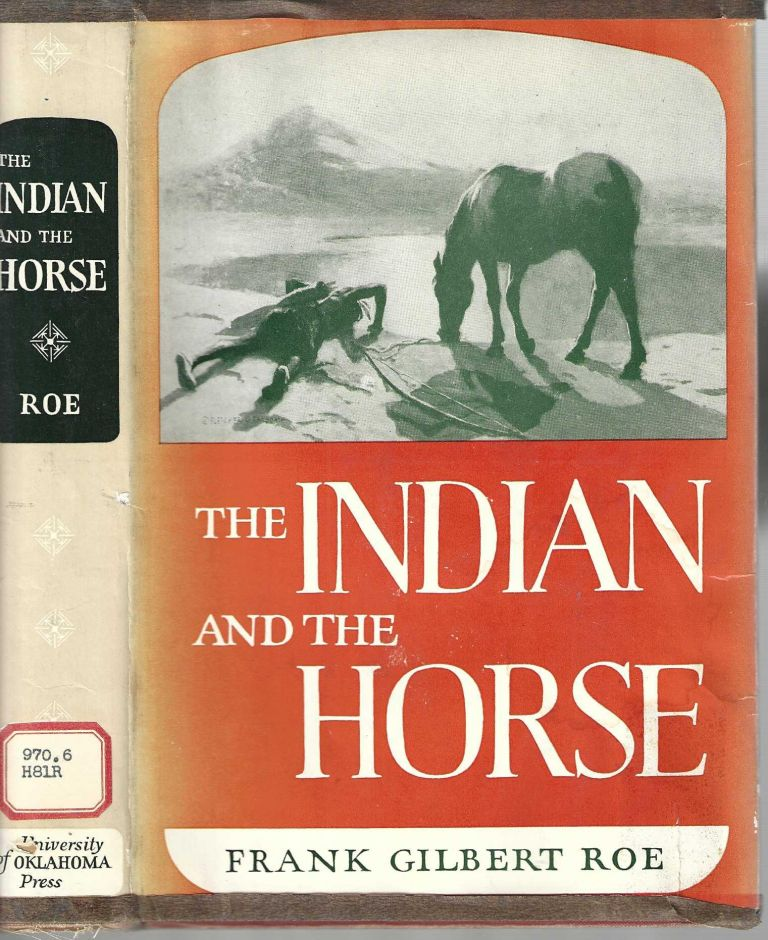 The Indian and the Horse. Frank Gilbert Roe.
