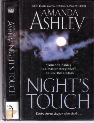 Night's Touch Children of the Night #2; Desire burns deeper after dark. Amanda Ashley