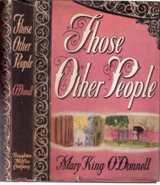 Those Other People. Mary King O'Donnell