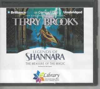Legends of Shannara The Measure of the Magic; Legends of Shannara #2. Terry Brooks