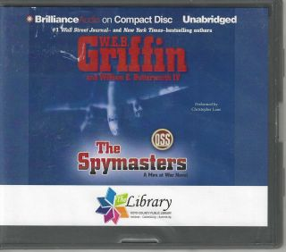 The Spymasters; A Men at War Novel #7. W. E. B. Griffin, William E. IV Butterworth