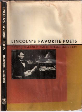 Lincoln's Favorite Poets. Harkness, McMurtry